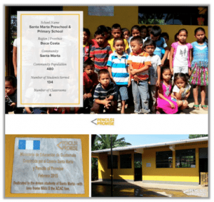 Santa Marta School Pencils of Promise